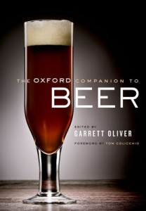 Oxford Companion of Beer book