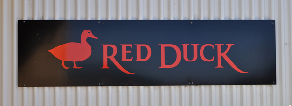 Red Duck brewery banner