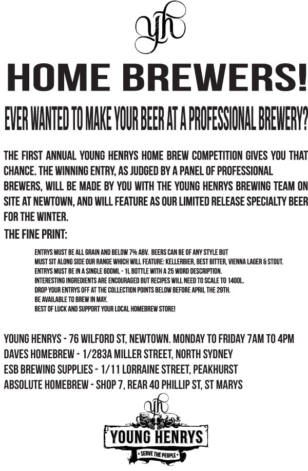 Home Brew Comp Flyer