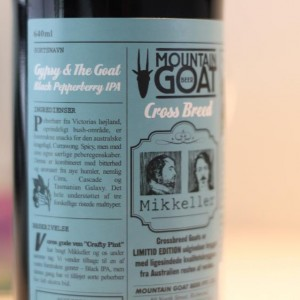 Image of The Gypsy and The Goat bottle