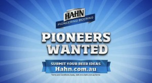 Hahn Academy asks Aussies for bold beer ideas