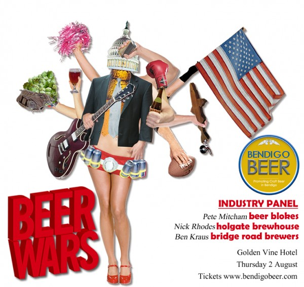 Poster image for Beer Wars event in Bendigo