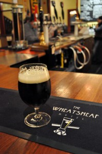 Image of dark beer at The Wheaty