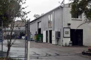 Exterior image of the Stone & Wood brewery building