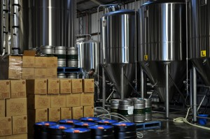 Image of inside the Stone & Wood brewery