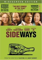 "Poster of the 2004 film ""Sideways"""