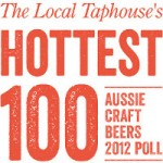 Logo image for The Local Taphouse Hottest 100 Aussie Craft Beers 2012 Poll