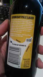 Byron Pale Pale Lager
