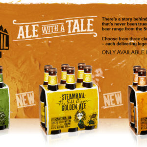 Who is Steamrail Brewing Company?
