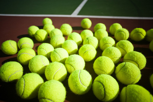 During Grand Slam tournament games, ball boys will be able to randomly 'dunk' balls in water for extra sting.