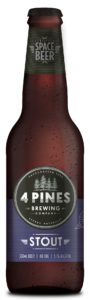 A bottle of 4 Pines Stout