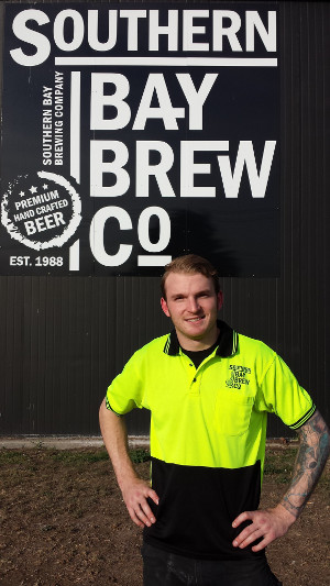 Southern Bay Brewing's new head brewer, Kyle Trammell