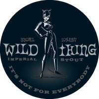 Tap decal for Murrays Wild Thing Imperial Stout