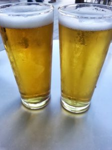 Minimum Chips 'Golden Lager' (left) Little Ripper 'Sparkling Lager' (right)
