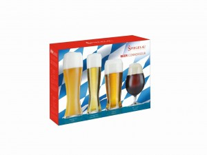 Participants received a pack containing the four Spiegelau Glasses