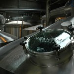 In the modern brewhouse at Meantime Brewery, North Greenwich.