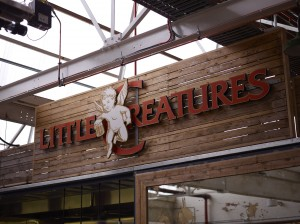 The Little Creatures sign at the Geelong brewery