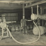 Breheny Brothers Brewery, Sale, Victoria, c.1918, long after Gavin and Arthur Ralston had operated another brewery in the same town. (Source: State Library of Victoria)
