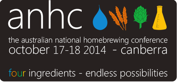 Event banner for ANHC October 2014 in Canberra