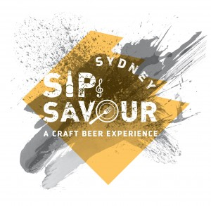 Sip and Savour Sydney event logo