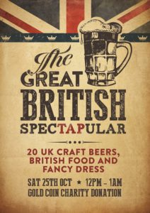 Event poster for Great British SpecTapular