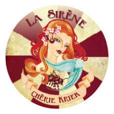 La Sirene Cherie Kriek decal
