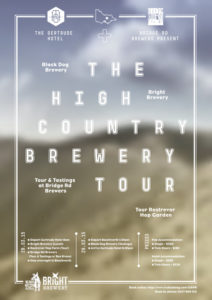 Poster for the High Country Brewery Tour