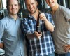 Brothers behind Vale Brewing (l-r) Pete Collin, Tim Collin and Michael Collin