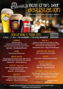 National Press Club hosting beer dinner