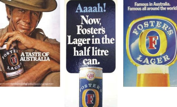 Foster's Lager in its heyday