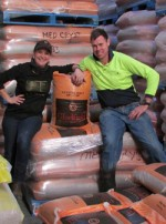 Gladfield Malt Doug and Gabi
