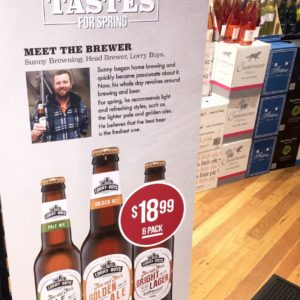 Coles puts face to private label beer