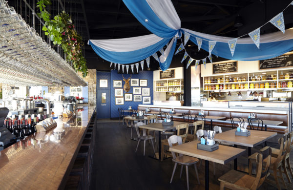 Bavarian Bier Cafe at Westfield Miranda in Sydney - picture by Jane Kelly