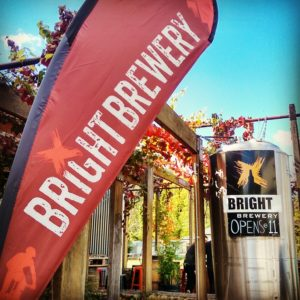 Arrival at Bright Brewery