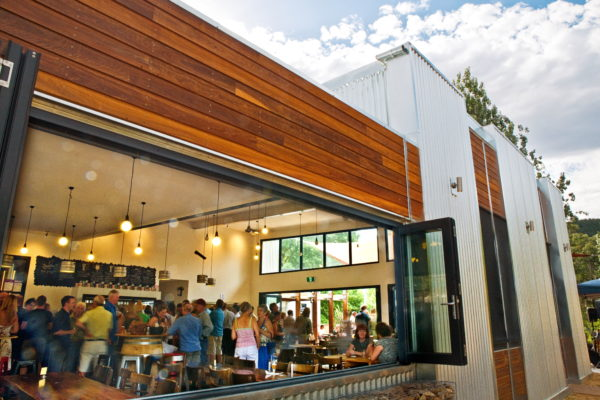 The impressive Bright Brewery bar and restaurant