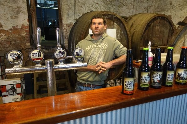 James Booth of Black Dog Brewery