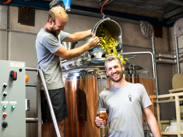 The brew day at Blackman's Brewery