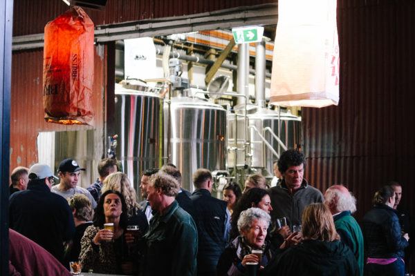 The new Hobart Brewing Company taproom