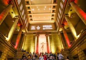 CBC 2016 Welcome Reception at Philadelphia Museum of Art on Tuesday night
