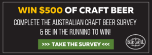 2016 Australian Craft Beer Survey with Beer Cartel Logo Newsletter