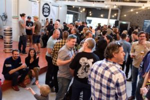 Stomping Ground's pop-up launch event