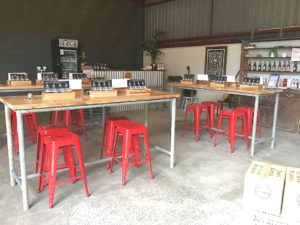 The revamped cellar door