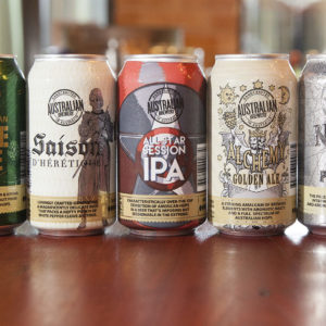 Australian Brewery reboots cans