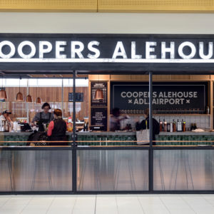 Adelaide Airport gets new-look Coopers Alehouse