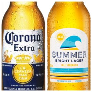 Corona and the new-look XXXX Summer Bright