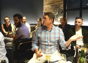 Willie Smith's hosted cider masterclasses for restaurant buyers