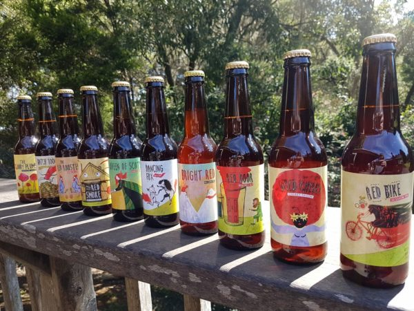 Red Hill Brewery's ten red beers