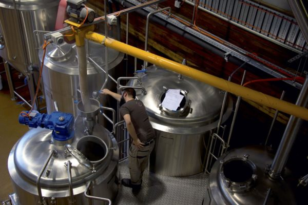 Spark Brew supplied a 15hL digital brewery with matching 50L pilot brewhouse