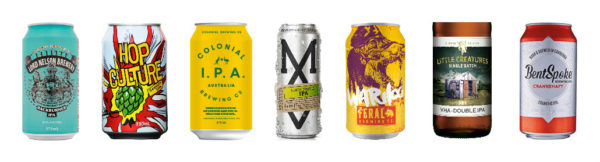 Just a few of the new IPAs on the market in recent weeks