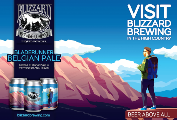 Blizzard Brewing's Belgian Pale Ale
